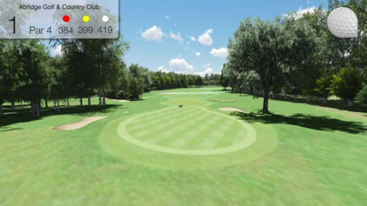 Abridge Golf Course & Country Club screenshot-4