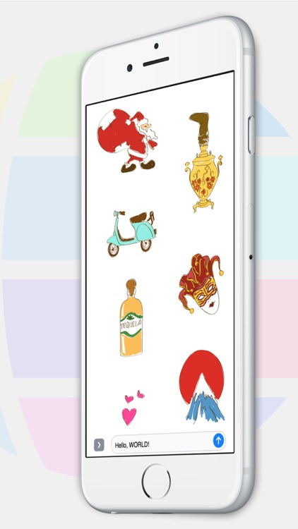 Travel Stickers (by ChitChap)