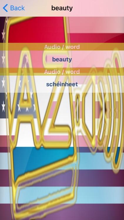 Luxembourgish Dictionary GoldEdition screenshot-4