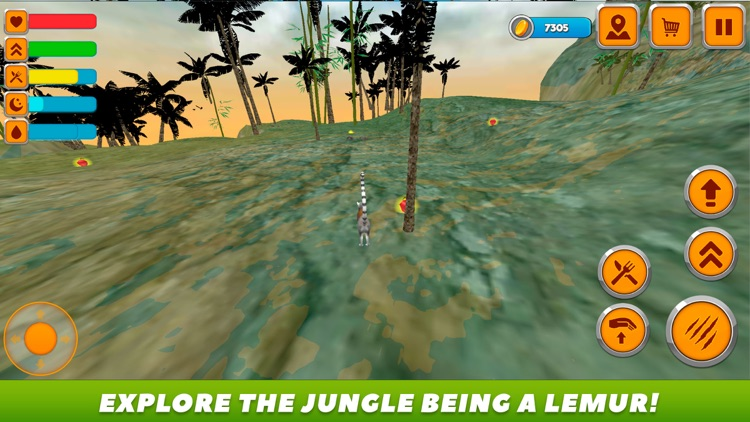 Lemur Forest Life Simulator 3D by Games Banner Network