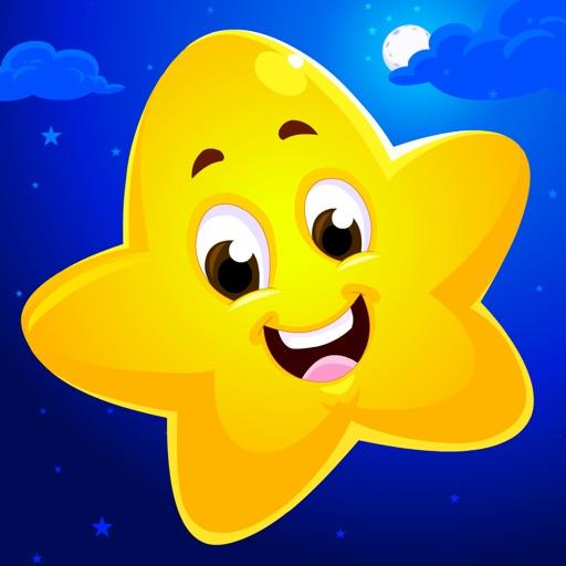 KidloLand Nursery Rhymes, Preschool Toddler Games app logo
