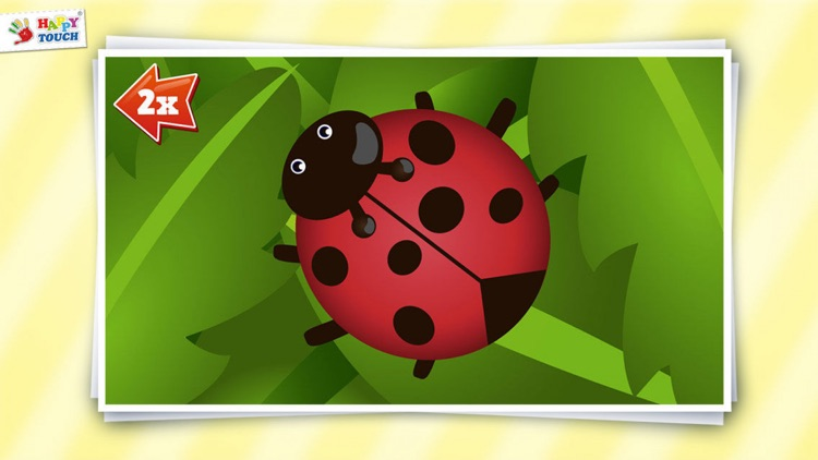 Animated Animal Puzzle for kids by HAPPYTOUCH® screenshot-4