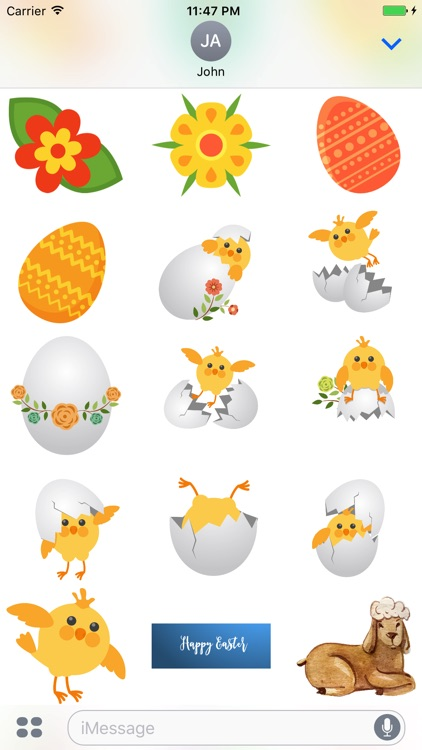 Happy Easter - Stickers screenshot-4