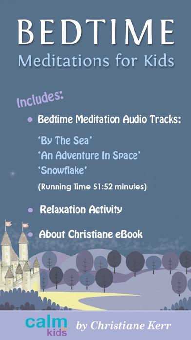 Bedtime Meditations For Kids by Christiane Kerr screenshot three