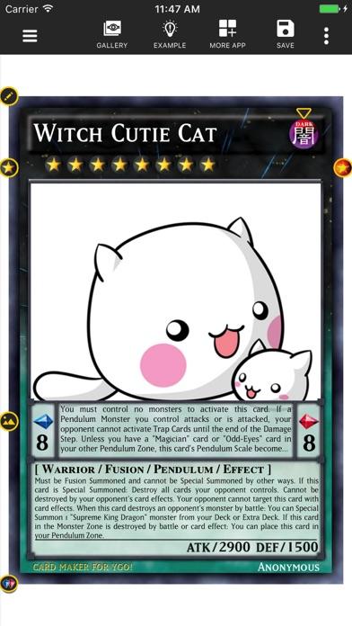Card Maker Creator for YugiOh Screenshot 2