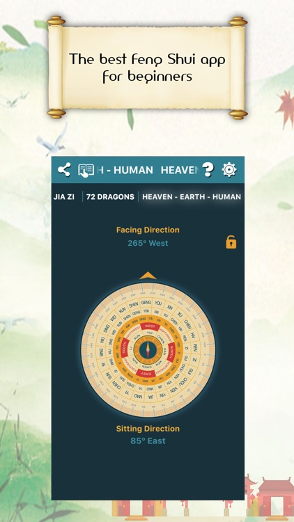 Chinese Compass Feng shui screenshot-4