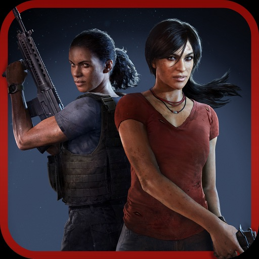 Uncharted: The Lost Legacy Stickers