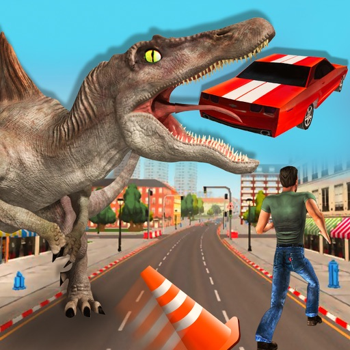 3D Dinosaur Simulator Dino Survival Hunting Games
