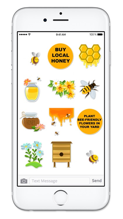 Save The Bees Sticker Pack screenshot-3