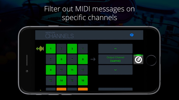 Midiflow Channels for Audiobus 3