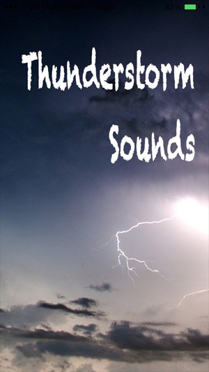 Thunderstorm Sounds Nature - Thunder Sounds Sleep on the App