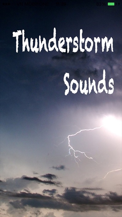 Thunderstorm Sounds Nature - Thunder Sounds Sleep