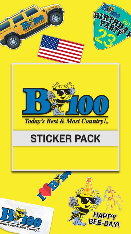 B100 Sticker Pack
