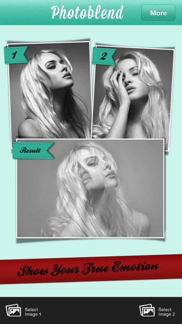 Photoblend photoshop like edit Screenshot