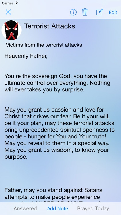 Prayer App - Christian Journal