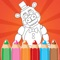 Coloring Book For FNAF Fans For Kids And Adults is one of the best coloring games