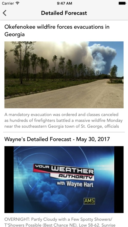 Your Weather Authority Powered by Eyewitness News screenshot-3