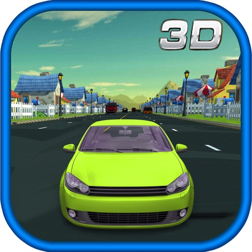 3D Storm Car Racer Street Highway Racing