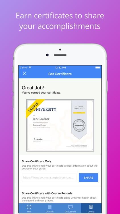 Coursera: Top online courses screenshot-4