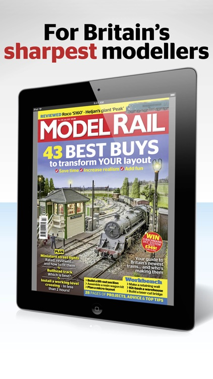 Model Rail Magazine: build stunning model railways