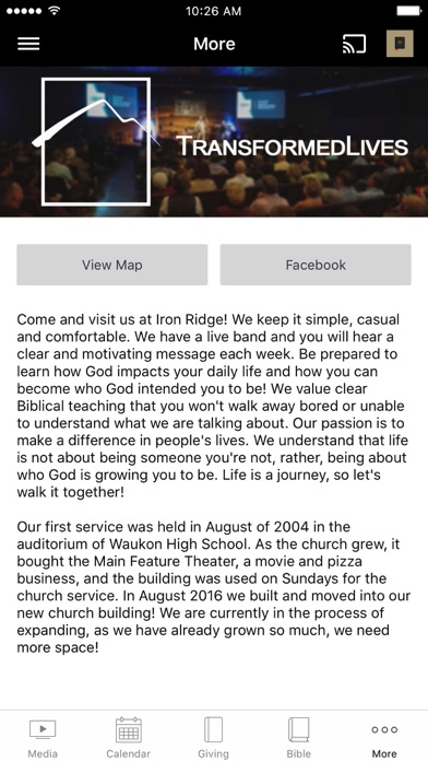 Iron Ridge Church screenshot 3