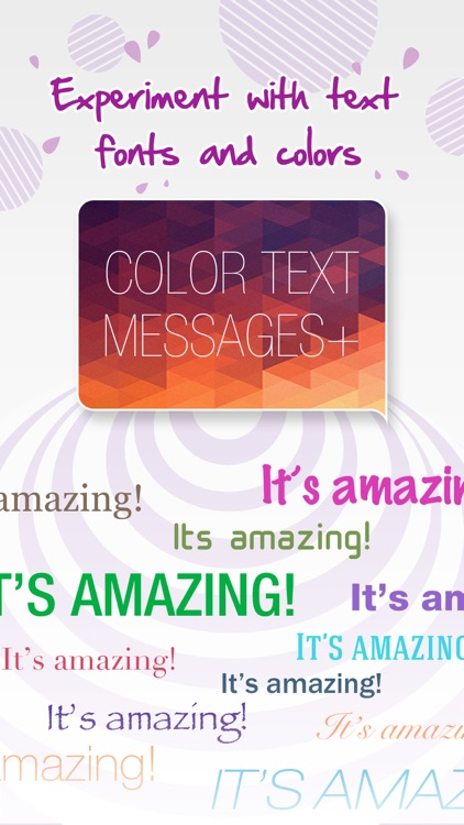 Color Text Messages+ Customize Keyboard Free Now screenshot-3