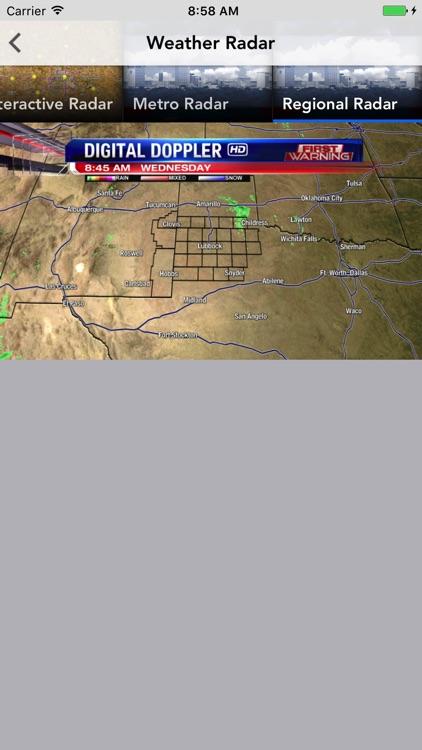 KLBK First Warning Weather screenshot-3
