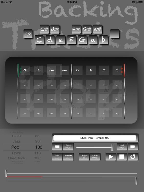 Pop Backing Tracks Creator Pro screenshot-4