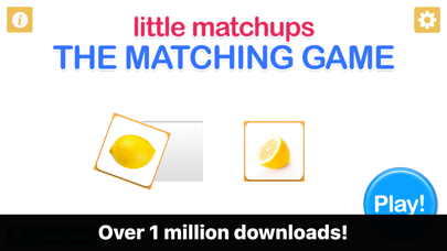 Little Matchups - The Matching Game for Toddlers-0