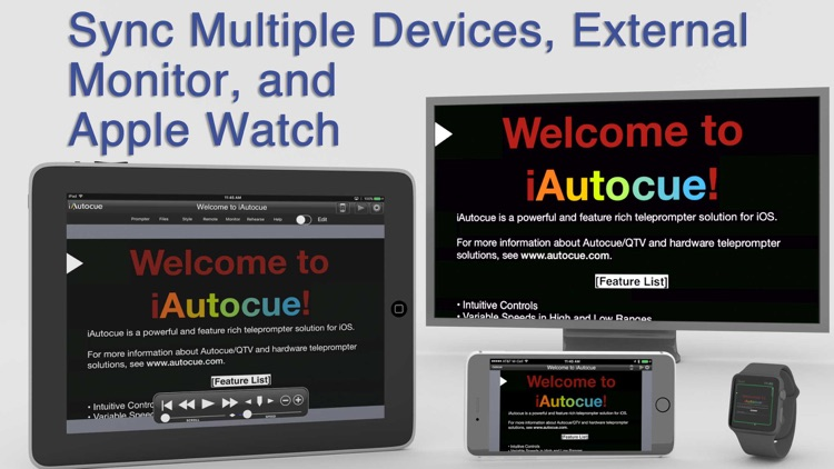 iAutocue screenshot-4