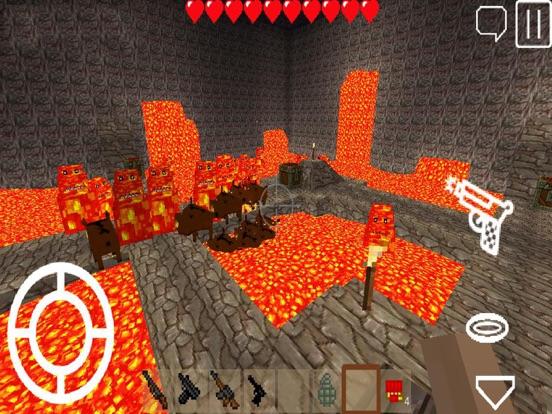 Pixel Block Gun 3D для iPad