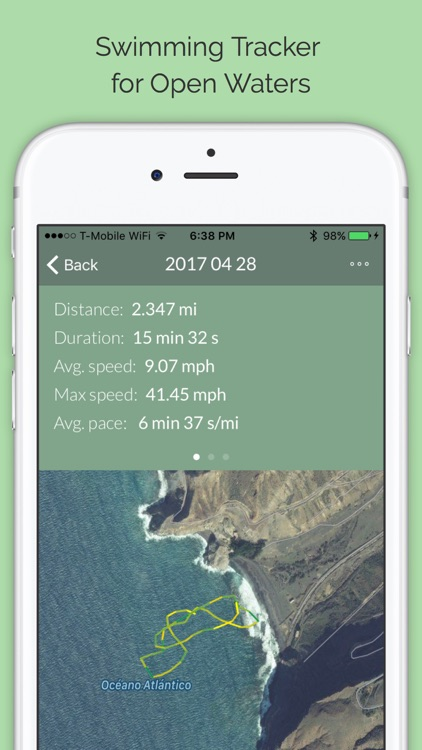 Swimming Tracker for Open Waters