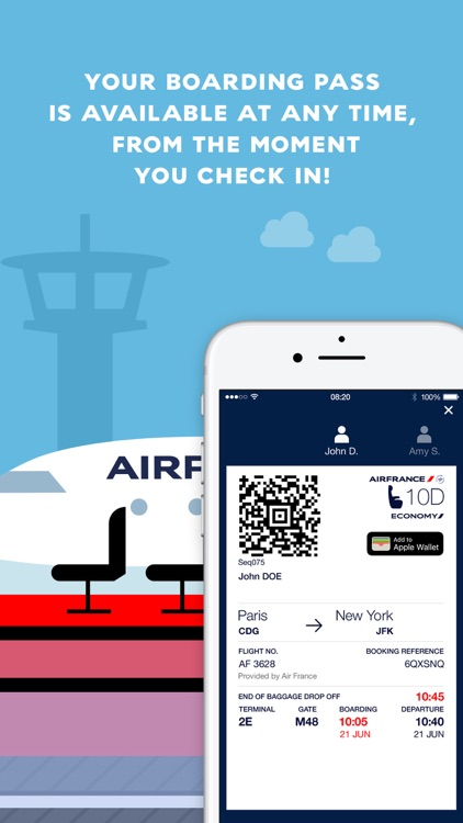 Air France screenshot-1