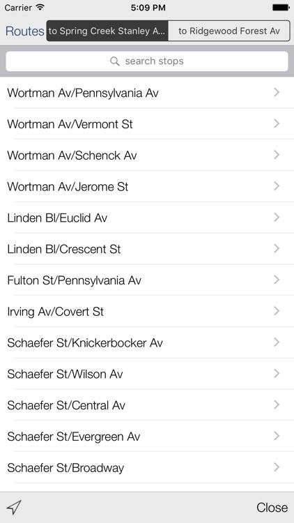 Transit Stop: NYC Bus Tracker screenshot-3