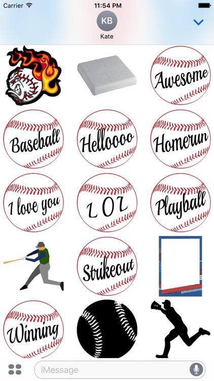 Baseball Sticker Pack Cubs Experience screenshot-3