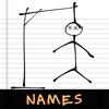 Hangman: Names