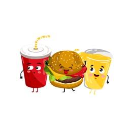 Foodastic Fun! Cool Fast Food Stickers
