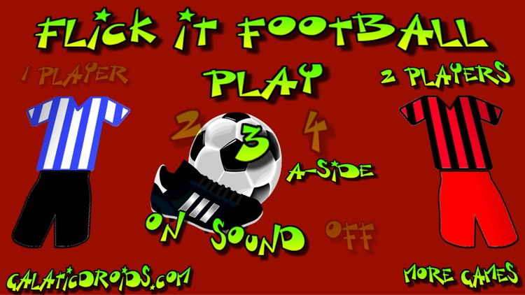 Flick It Football 3d Pro screenshot-4