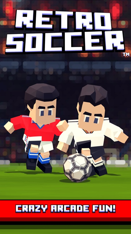 Retro Soccer - Arcade Football screenshot-0