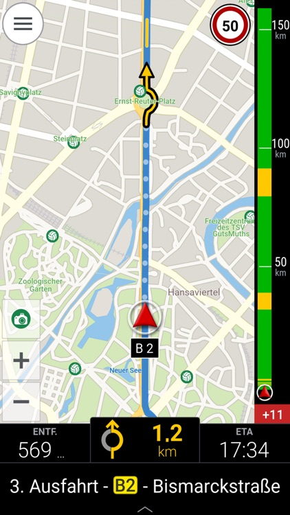 CoPilot DACH - GPS Navigation & Offline Maps screenshot-4
