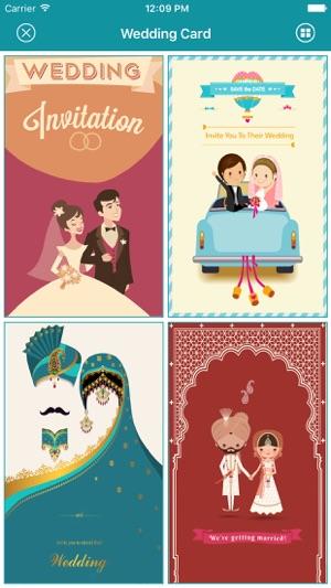 Wedding invitation greeting cards maker on the app store iphone ipad stopboris Gallery