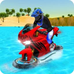 Super Water Bike Rider Game 2017
