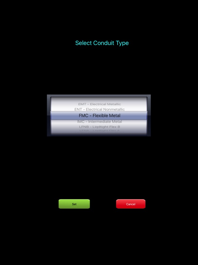 Electrical calc elite nec code calculator on the app store greentooth Gallery