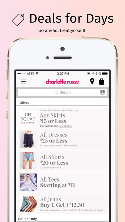 Charlotte Russe screenshot-1