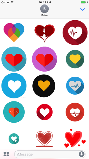 Sweetie Heart Love Stickers On The App Store