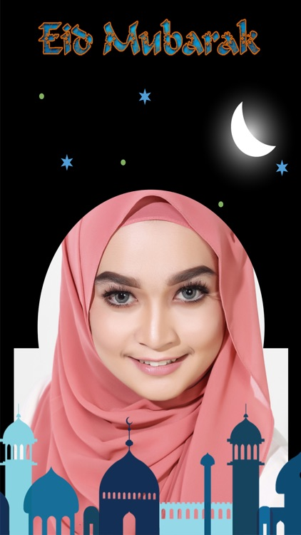 Eid Mubarak Photo Frames Editor