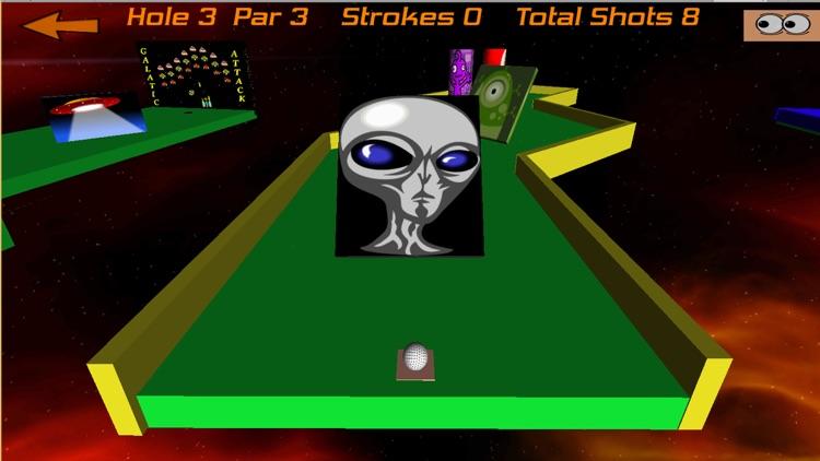 Crazy Golf In Space screenshot-3