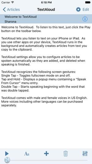 nextup textaloud review