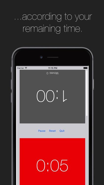 ChessTimer - The best chess clock on iOS screenshot-3