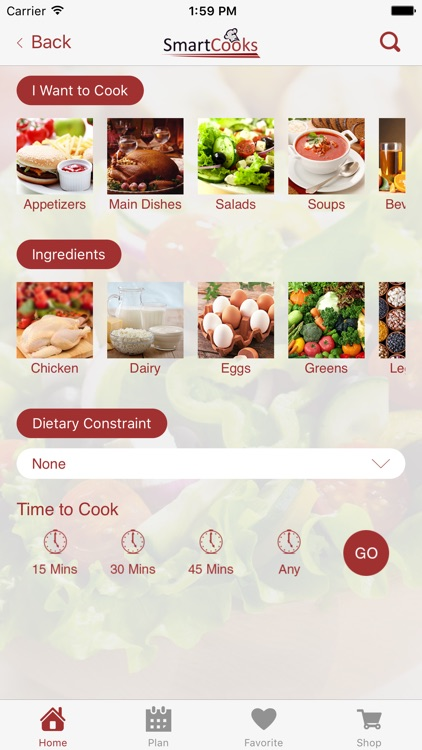 SmartCooks Meal Planning screenshot-3